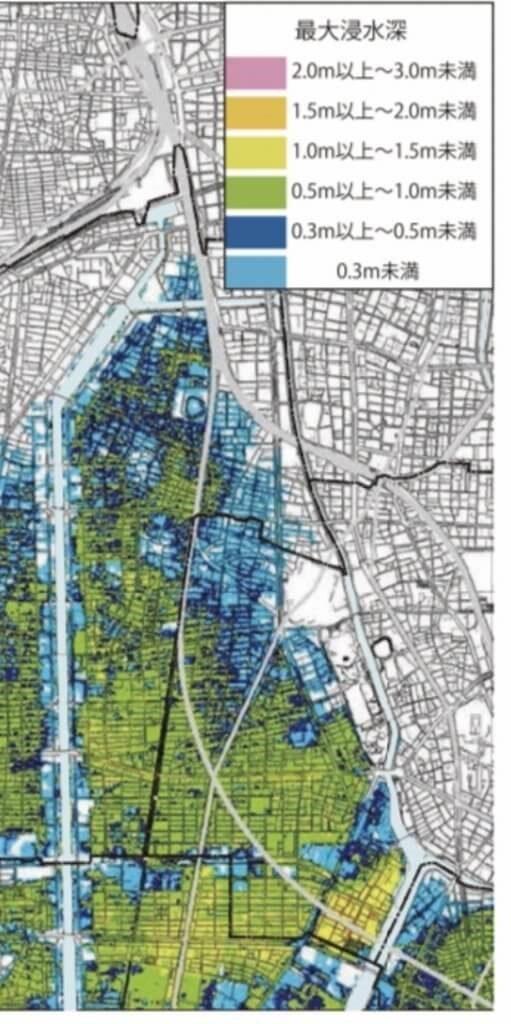 熱田区ハザードマップ